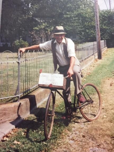 Oswald Fritsche bicycle 1 Gerard Fiehler