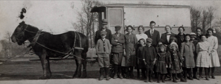 School wagon Indiana