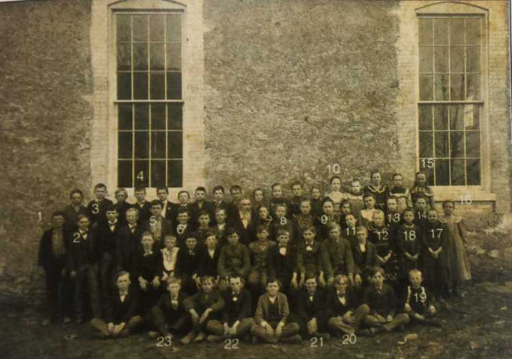 Trinity Lutheran School students 1904 Paul Wachter 1