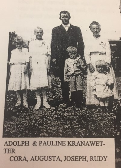 Adolph and Pauline Kranawetter family