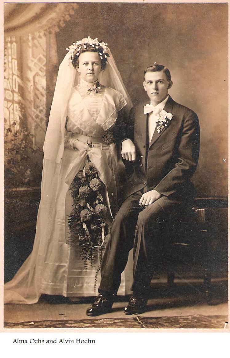 Alvin and Alma Hoehn Wedding2
