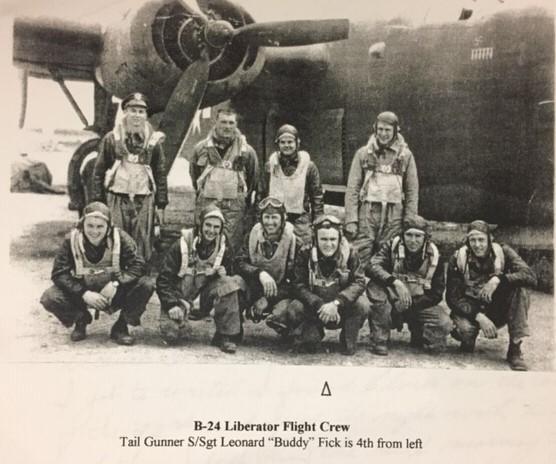 B-24 Liberator Flight Crew Buddy Fick