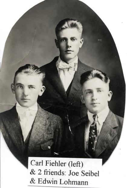 Carl Fiehler Joe Seibel & Edwin Lohmann