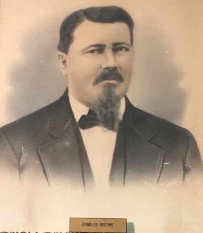 Charles Boehme closeup