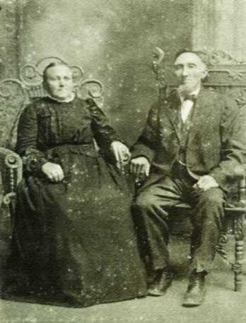 Claus and Margaretha (Rathjen) Miesner