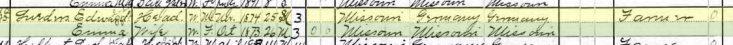 Edward Lueders 1900 census Brazeau Township MO