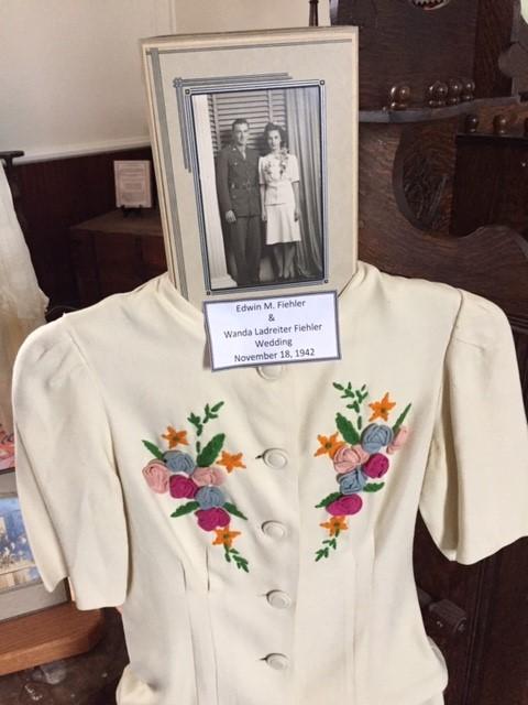 Edwin and Wanda Fiehler wedding