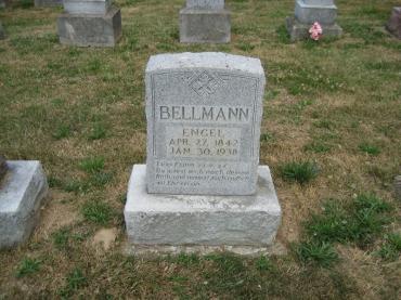 Engel Bellmann gravestone Trinity Altenburg MO
