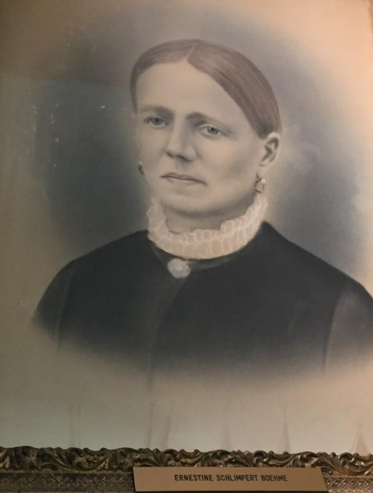 Ernestine Schlimpert Boehme closeup