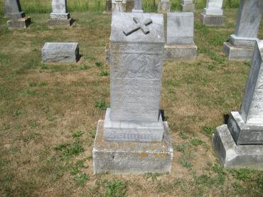 Heinrich Bellmann gravestone Trinity Altenburg MO
