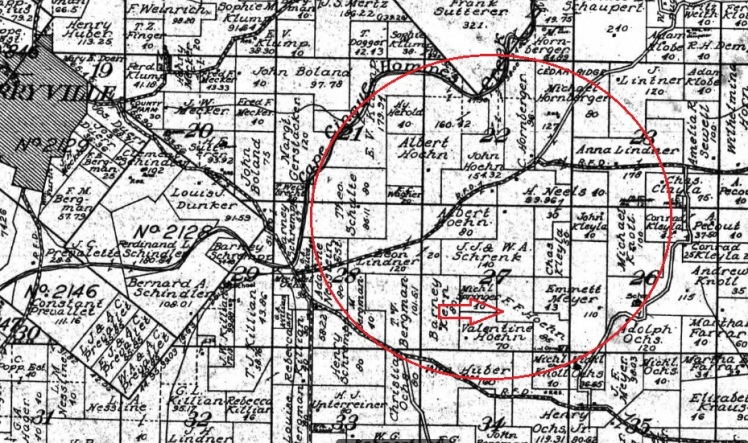 Hoehn property 1915 map.jpg