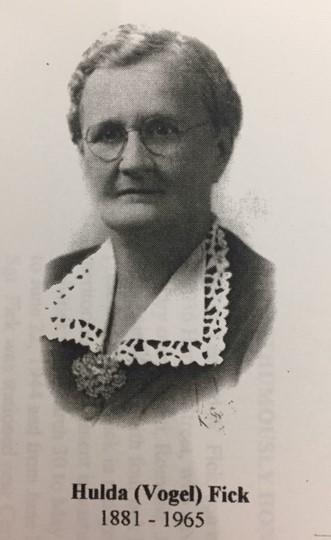 Hulda Vogel Fick