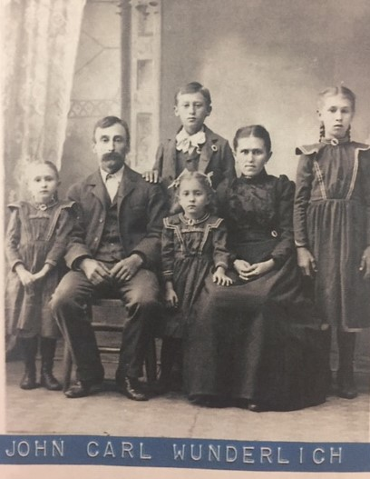 John Carl Wunderlich family