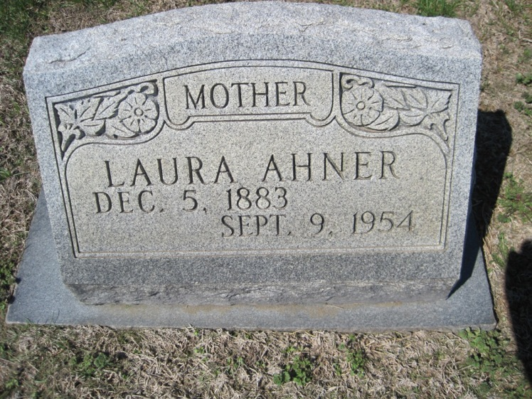 Laura Ahner gravestone Christ Jacob IL