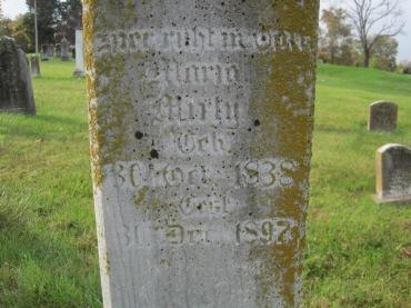 Maria Mirly gravestone Immanuel New Wells MO