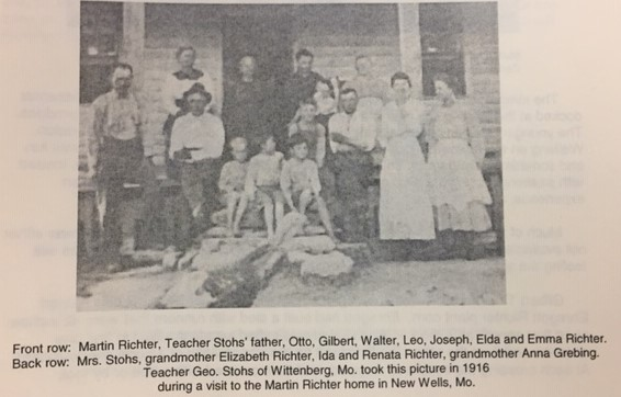 Martin and Joseph Richter family picture