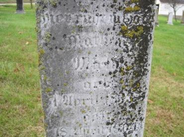 Matthias Mirly gravestone Immanuel New Wells MO