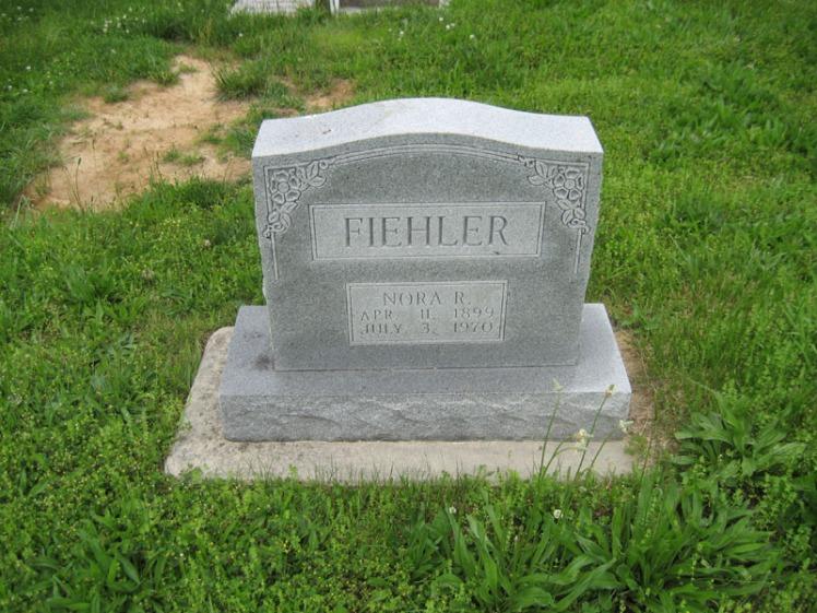 Nora Fiehler gravestone Immanuel Perryville MO