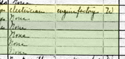 William F H Hoffmann 1920 census occupations St. Louis MO