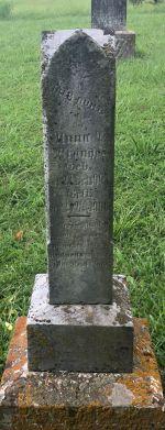 Anna P Brandes gravestone Grace Uniontown MO