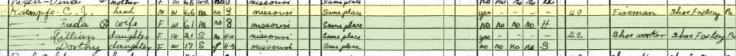 Charles Kaempfe 1940 census Cape Girardeau MO