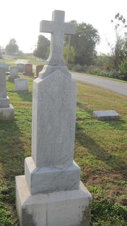Elizabeth Roth gravestone Salem Farrar MO
