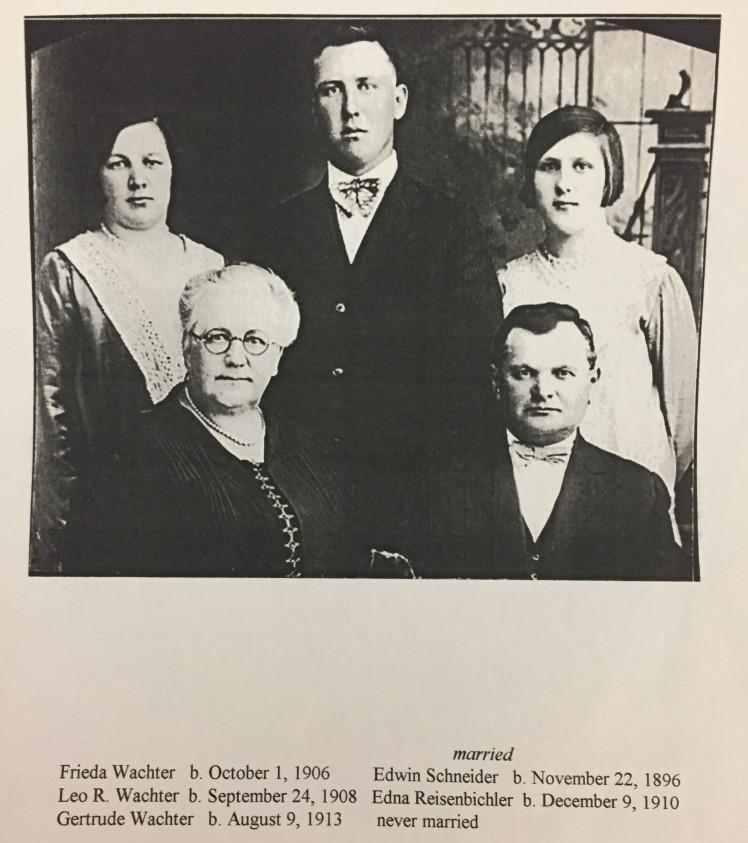 Ernst Wachter family