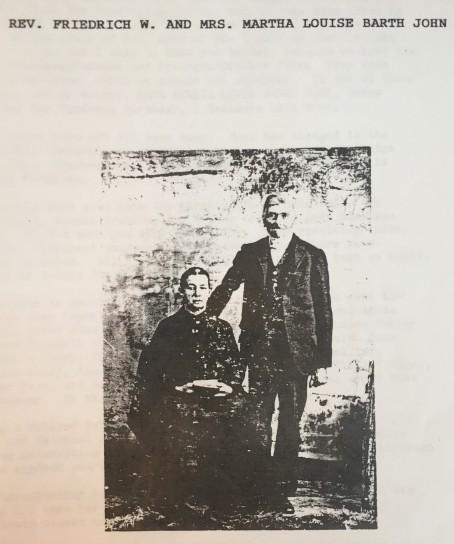 Friedrich and Martha Barth John