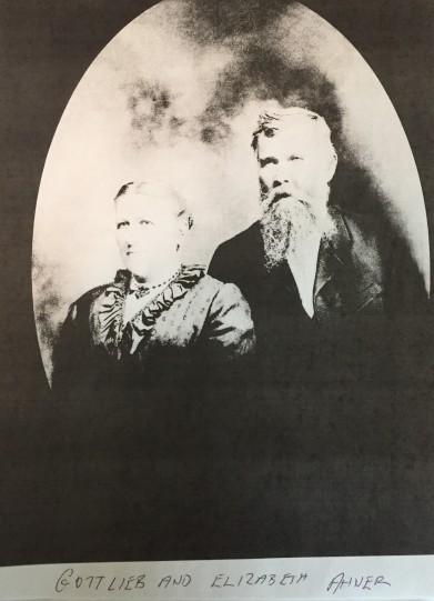 Gottlieb and Elizabeth Ahner