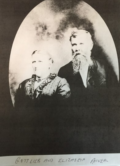 Gottlieb and Elizabeth Ahner