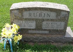 Martin Rubin gravestone Immanuel Augsburg IL