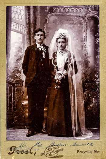 Miesner Heins wedding