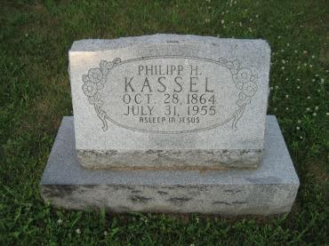 Phillip Kassel gravestone Salem Farrar MO