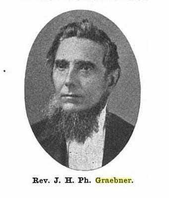 Rev. J.H.Ph. Graebner