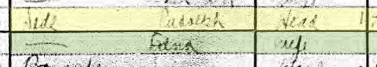 Rudolph Dede 1920 census St. Louis MO