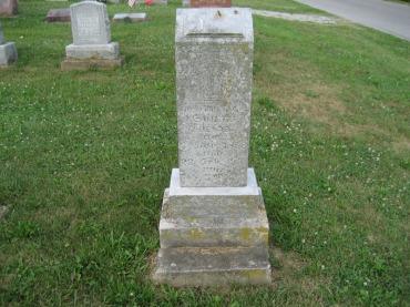 Sophia Miesner gravestone Salem Farrar MO