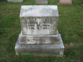 Theodore Koenig gravestone Salem Farrar MO