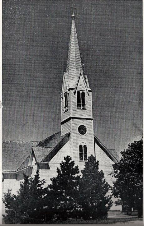 Zion Lutheran Hampton NE 1948