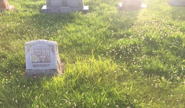 Amalia Rodewald grave space 1 Trinity Altenburg MO