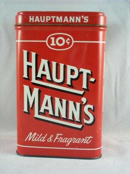 Hauptmann's Cigar Can