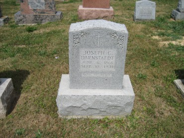 Joseph Darnstaedt gravestone Trinity Altenburg MO
