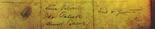 Mabel Swan baptism record 2 Immanuel Altenburg MO