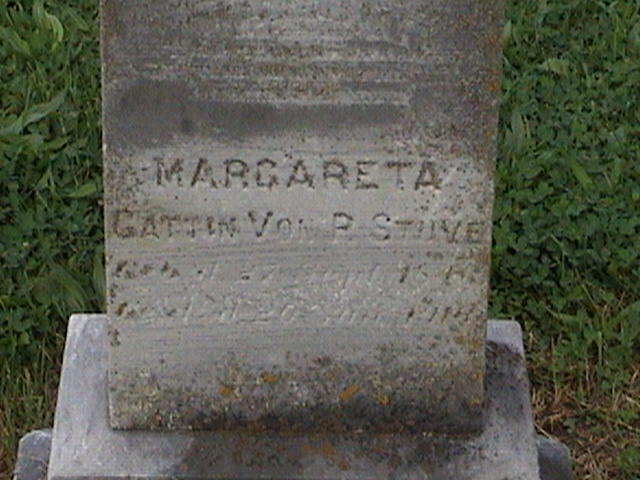 Margareta Stueve gravestone Salem Farrar MO