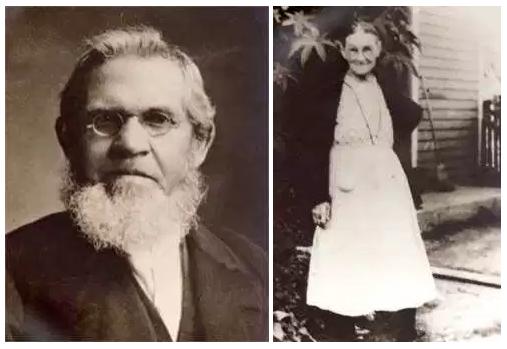 Peter and Wilhelmine (Mueller) Lohmann