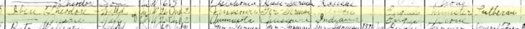 Theodore Iben 1910 census Logan OK