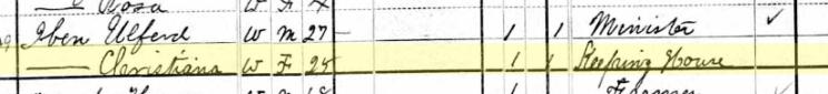 Ulfert Iben 1880 census Farmington, MO