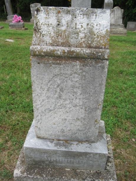 Wilhelm Edwin Hemmann gravestone Concordia Frohna MO