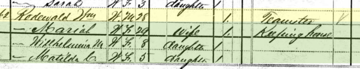 William Rodewald 1880 census Perryville MO