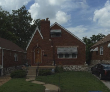 8557 Partridge Ave. St. Louis MO Moeckel home