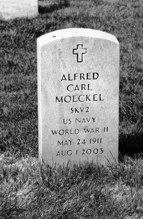 Alfred Moeckel gravestone Jefferson Barracks St. Louis MO